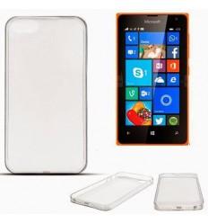 Гъвкав калъф, ултра тънък | заден капак | мек гръб, прозрачен Microsoft Lumia 435