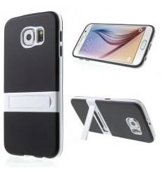 Калъф твърд гръб KickStand Transformer за Samsung Galaxy S6 G920 черен