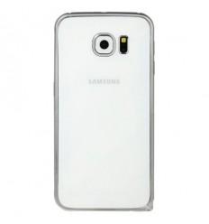 Калъф метален бъмпер BASEUS Samsung Galaxy S6 G920 сребрист