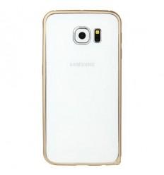 Калъф метален бъмпер BASEUS Samsung Galaxy S6 G920 златен