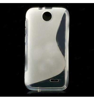 Гръб силикон S-Line HTC DESIRE 310 прозрачен