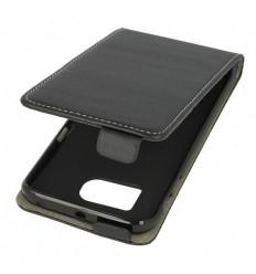 Калъф слим флип флекси Samsung Galaxy S6 Edge G925 черен