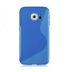 Калъф силиконов S-Line Samsung Galaxy S6 Edge G925 син