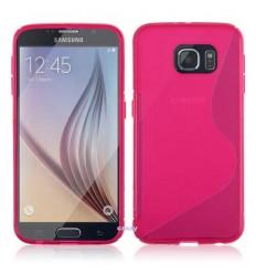 Калъф силиконов S-Line Samsung Galaxy S6 Edge G925 розов
