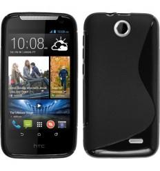 Гръб силикон S-Line HTC DESIRE 310 черен