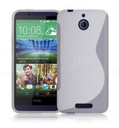 Гръб силикон S-Line HTC DESIRE 510 прозрачен