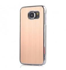 Калъф алуминиев гръб Gold Samsung Galaxy S6 G920