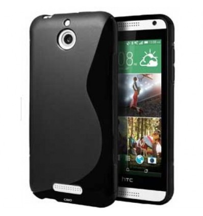 Гръб силикон S-Line HTC DESIRE 510 черен