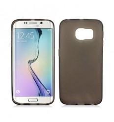 Калъф силиконов ултра тънък сив за Samsung Galaxy S6 Edge G925