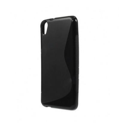 Гръб силикон S-Line HTC DESIRE 820 черен