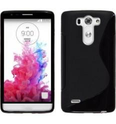 Калъф силиконов гръб за LG G3 mini черен