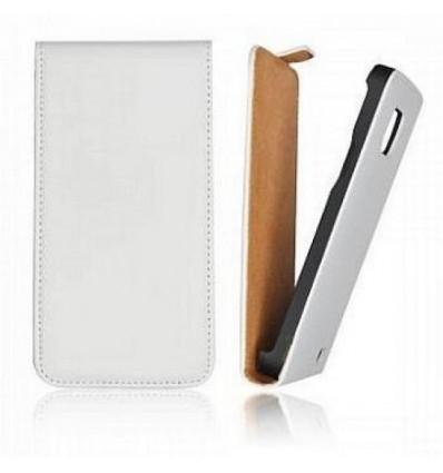 Калъф флип Slim Flip HTC Desire 510 бял