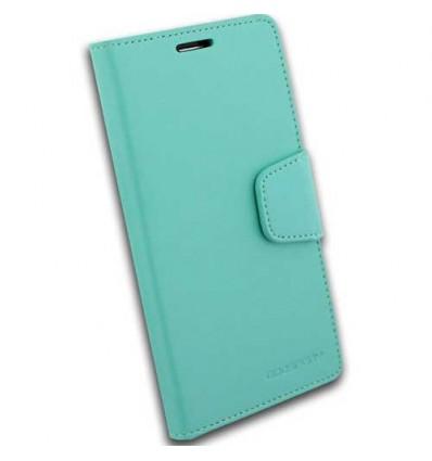 Марков калъф Mercury Sonata Diary за HTC ONE M8 - зелен