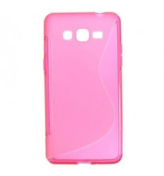 Силиконов калъф гръб S-Line Samsung Galaxy Grand Prime G530 розов