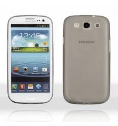 Калъф мек ултра тънък сив за Samsung Galaxy S3 i9300