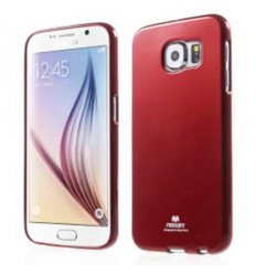 Марков калъф Mercury Jelly Case за Samsung Galaxy S6 G920 червен