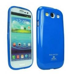 Марков калъф Mercury Jelly Case за Samsung Galaxy S3 i9300 син