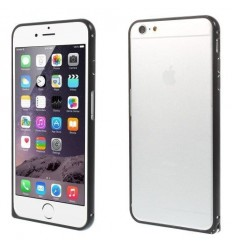 Стилен метален бъмпер iPhone 6 Plus  черен