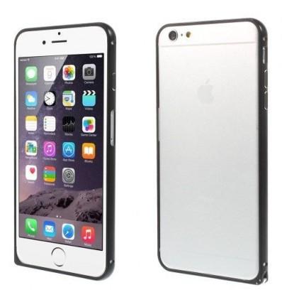 Стилен метален бъмпер iPhone 6 Plus  черен