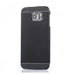 Стилен твърд гръб 2 в 1 Samsung G920 Galaxy S6 черен