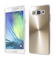 Стилен алуминиев гръб Gold CD Samsung Galaxy A3
