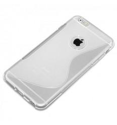 Силиконов калъф гръб S-Line iPhone 6 (5.5) прозрачен