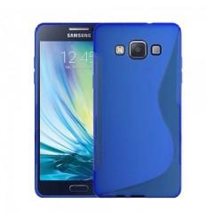Силиконов калъф гръб S-Line Samsung Galaxy A5 син