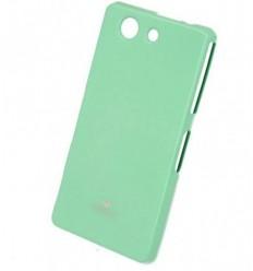 Марков калъф Mercury Jelly Case за Sony Xperia Z3 compact зелен