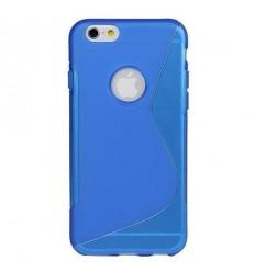 Силиконов калъф гръб S-Line iPhone 6 (4.7) син