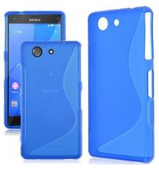 Силиконов калъф гръб S-Line Sony Xperia Z3 compact син