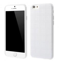 Гръб мек iPhone 6 (4.7) каре - бял