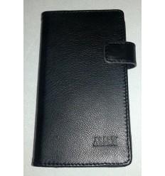 Флип страничен MBX агнешка кожа Samsung Galaxy A5 черен