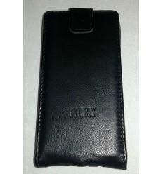 Флип MBX агнешка кожа Samsung Galaxy A3 черен