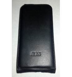 Флип MBX агнешка кожа HTC ONE M8 черен