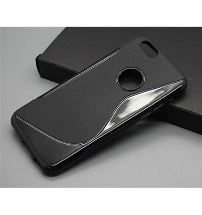 Гръб силикон S-Line iPhone 6 (5.5) черен