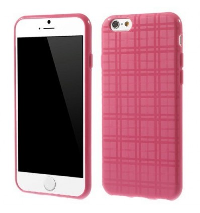 Гръб мек iPhone 6 (4.7) каре - розов