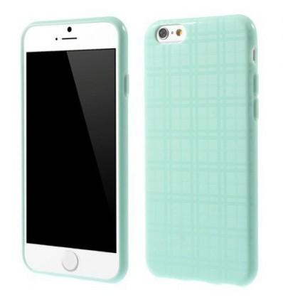 Гръб мек iPhone 6 (4.7) каре - син