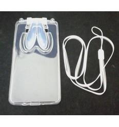 Калъф гъвкав Samsung Galaxy A5 заешки уши прозрачен