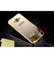 Кейс за Samsung Galaxy Grand Prime калъф твърд Mirror Bumper Gold