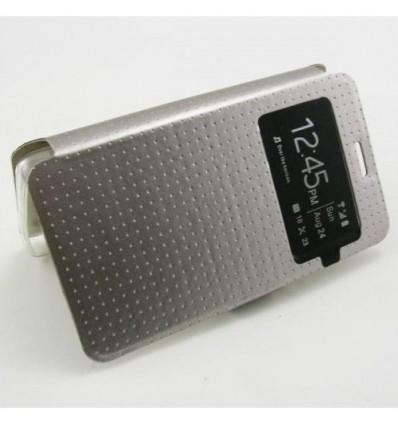 Флип страничен S-View Flexi Lenovo A536 сребърен