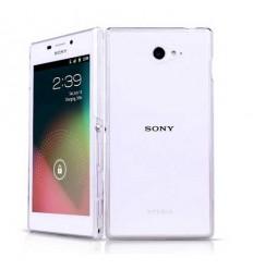 Гръб мек TPU Ultra thin прозрачен Sony Xperia M2