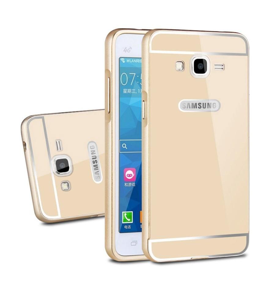 Suede Bumper Samsung J500 Galaxy J5 Gold
