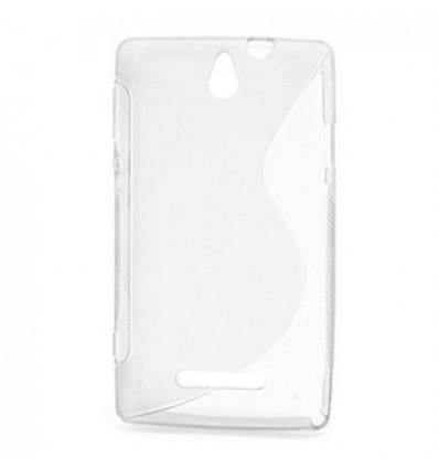 Гръб силикон S-Line Sony Xperia E1 прозрачен