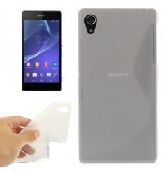 Гръб силикон S-Line Sony Xperia Z2 прозрачен