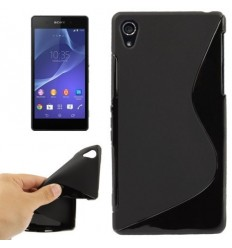 Гръб силикон S-Line Sony Xperia Z2 черен
