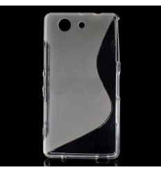 Гръб силикон S-Line Sony Xperia Z3 compact прозрачен