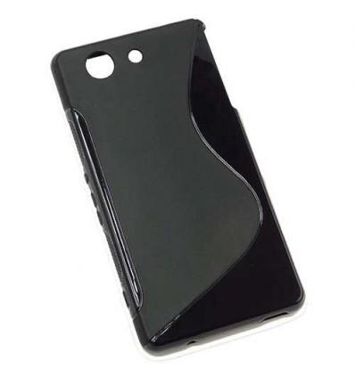 Гръб силикон S-Line Sony Xperia Z3 compact черен