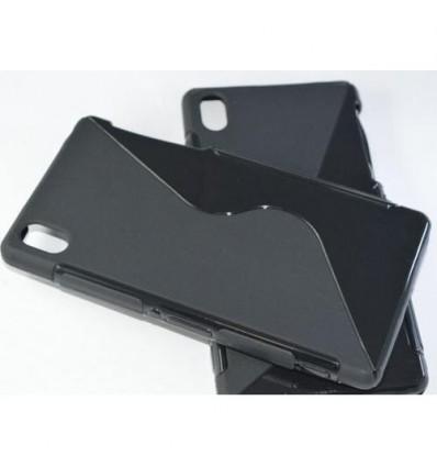 Гръб силикон S-Line Sony Xperia Z3 черен