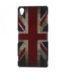Гръб твърд шарен/бутиков Sony Xperia Z3 UK флаг
