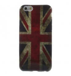 Гръб мек шарен/бутиков- iPhone 6 (4.7) UK flag